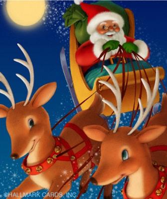 santa sleigh website