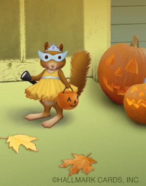squirrel in costume website