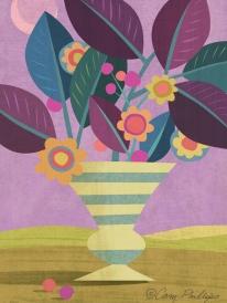 Vase in Landscape