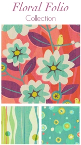 Floral Folio Coll. button
